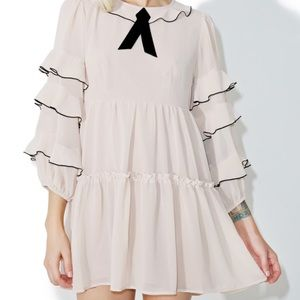 For Love and Lemons Souffle Ruffle Dress